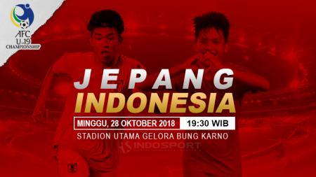 Prediksi Jepang U-19 vs Indonesia U-19. - INDOSPORT