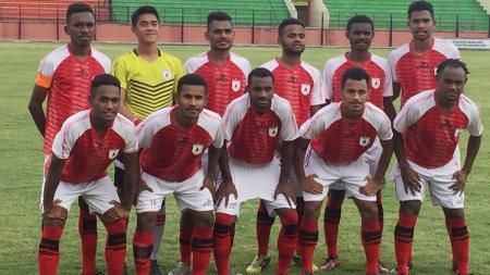 Skuat Tim Persipura Jayapura U-19. - INDOSPORT