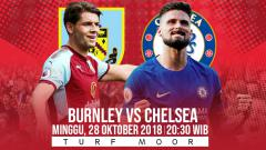 Indosport - Prediksi Pertandingan Burnley vs Chelsea.