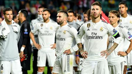 Real Madrid harus berurusan dengan UEFA setelah pertandingan Liga Champions melawan Club Brugge. - INDOSPORT