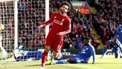 Indosport - Mohamed Salah yakin Liverpool akan kembali jadi penantang gelar Liga Primer Inggris 2019/20. Jan Kruger/Getty Images.