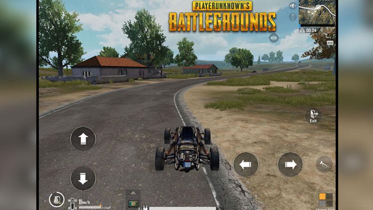 Mobil, Salah satu cabang olahraga yang ada dalam game PUBG Copyright: Gamezeboo