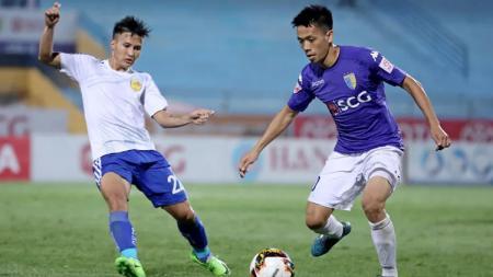 Tekad Pemain Terbaik Liga Vietnam 2020, Nguyen Van Quyet, Bungkam Timnas Indonesia dalam 2 Ajang Ini. - INDOSPORT