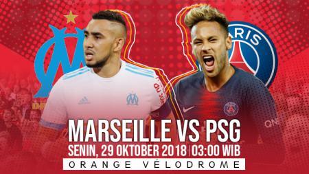 Prediksi Marseille vs PSG - INDOSPORT