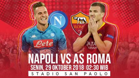 Prediksi Napoli vs AS Roma. - INDOSPORT