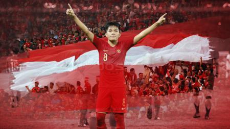 Gelandang Timnas Indonesia U-19 Witan Sulaeman. - INDOSPORT
