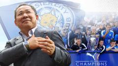 Indosport - Vichai Srivaddhanaprabha dan Leicester City saat merayakan juara Liga Inggris 2015/16.