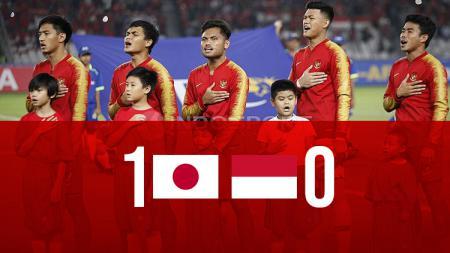 Babak pertama Jepang vs Indonesia - INDOSPORT