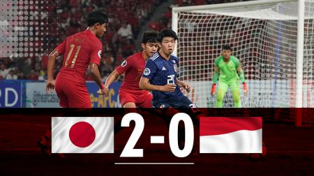 Hasil pertandingan Jepang U-19 vs Indonesia U-19. - INDOSPORT