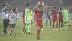 Indosport - Rachmat Irianto mengapresiasi dukungan dari suporter Timnas Indonesia usai takluk dari Jepang U-19.
