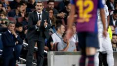 Indosport - Pelatih Barcelona, Ernesto Valverde.
