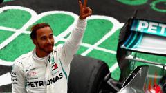 Indosport - Berita F1: Lewis Hamilton di puncak klasemen sementara Formula 1 2019, Verstappen gusur pembalap muda Ferrari, Charles Leclerc. Getty Images/Dan Istitene.