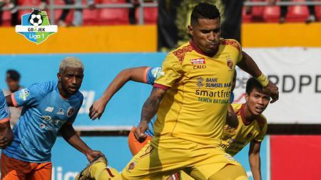 Hasil pertandingan Sriwijaya FC vs Perseru Serui. - INDOSPORT