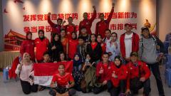 Indosport - Atlet panjat tebing Indonesia.