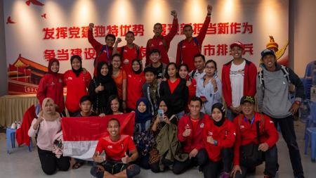 Federasi Panjat Tebing Indonesia (FPTI) menggelar simulasi pra-Olimpiade 2020. - INDOSPORT