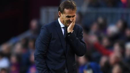 Pelatih Sevilla, Julen Lopetegui mengaku tidak memiliki motif balas dendam saat timnya menghadapi Real Madrid. - INDOSPORT