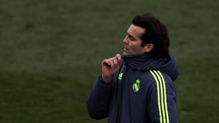 Pelatih Real Madrid Castilla, Santiago Solari. - INDOSPORT