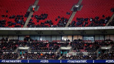 Manchester City vs Tottenham Hotspur dihiasi banyaknya bangku kosong - INDOSPORT