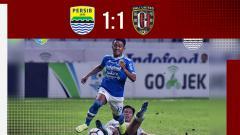 Indosport - Hasil pertandingan Persib Bandung vs Bali United.