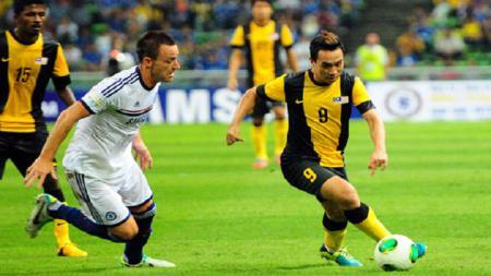 Timnas Malaysia akan menjamu Thailand dan Indonesia dalam lanjutan Kualifikasi Piala Dunia 2022. Jelang laga itu, mereka didesak ganti striker. - INDOSPORT