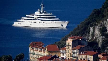 Kapal pesiar milik bos Chelsea. - INDOSPORT