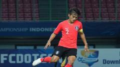 Indosport - Kapten Korea Selatan U-19, Hwang Tae-hyeon.