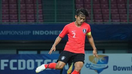 Kapten Korea Selatan U-19, Hwang Tae-hyeon. - INDOSPORT