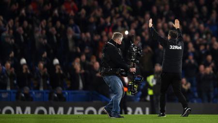 Frank Lampard harus menelan kekalahan keduanya dalam tiga laga pramusim sejak didapuk menjadi pelatih Chelsea. - INDOSPORT