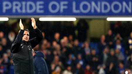 Frank Lampard menyayangkan kondisi Chelsea yang kerap mendapatkan hasil minor melawan tim gurem Liga Inggris di Stamford Bridge. - INDOSPORT