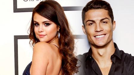 Selena Gomez dan Cristiano Ronaldo - INDOSPORT