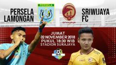 Indosport - Prediksi Persela Lamongan vs Sriwijaya FC