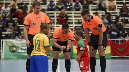 Pertandingan di Dwarf Copa America 2018 - INDOSPORT