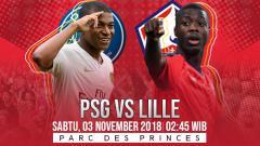 Indosport - Prediksi PSG vs Lille.