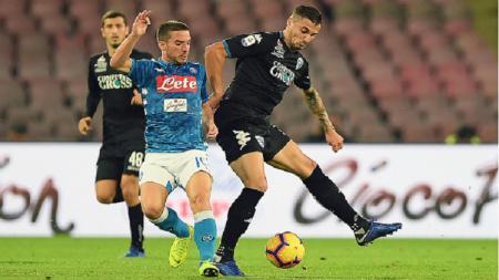 Pertandingan Serie A pekan ke-11 antara Napoli vs Empoli, Sabtu (03/11/18). - INDOSPORT