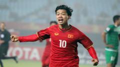 Indosport - Penyerang Timnas Vietnam Nguyen Cong Phuong