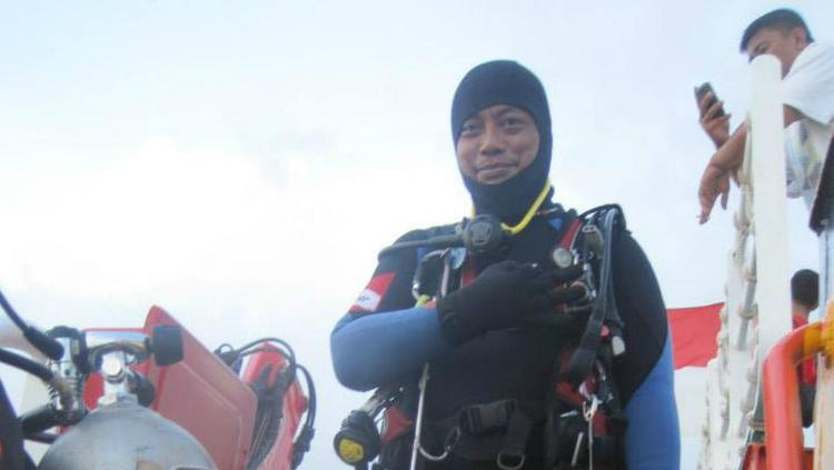 Syachrul Anto, penyelam yang meninggal dunia saat evakuasi korban Lion Air. Copyright: Facebook/Syachrul Anto