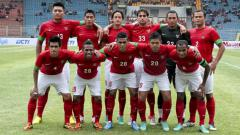 Indosport - Skuat Timnas Indonesia di Piala AFF 2012.