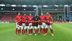 Indosport - Skuat Timnas I.ndonesia di Piala AFF 2012