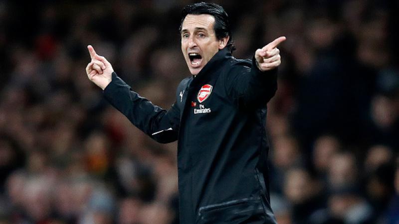 Unai Emery saat di laga Arsenal vs Liverpool Copyright: INDOSPORT