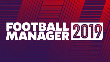 Logo Football Manager 2019 - INDOSPORT