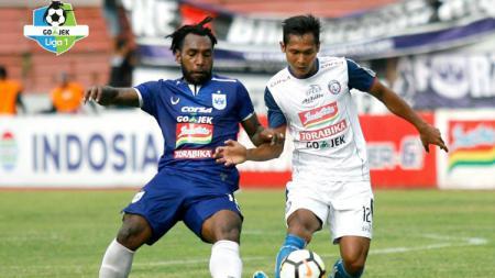Pertandingan PSIS Semarang vs Arema FC. - INDOSPORT
