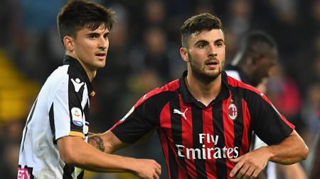Udinese vs AC Milan. - INDOSPORT