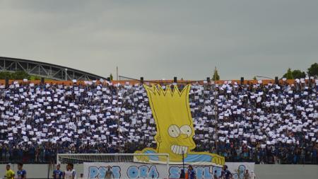 Panser Biru suporter PSIS Semarang - INDOSPORT