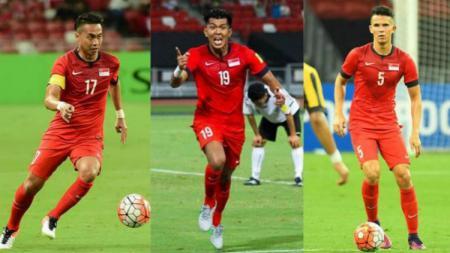 Trio Legendaris Singapura yang akan bermain di Piala AFF 2018 - INDOSPORT