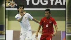 Indosport - Timnas futsal Indonesia meraih kemenangan atas Myanmar pada AFF Futsal Championship 2018 di Yogyakarta, Senin (05/11/18).