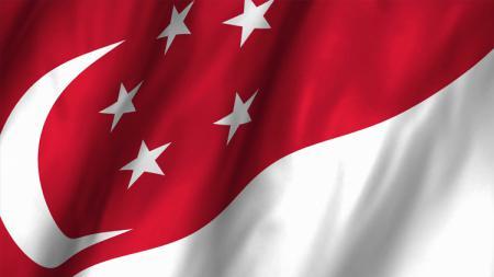Bendera Singapura. - INDOSPORT