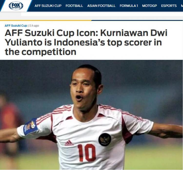 Legenda Timnas Indonesia, Kurniawan Dwi Yulianto Copyright: foxsports.com