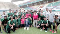 Indosport - Para pemain Timnas Indonesia di Piala AFF 2018.