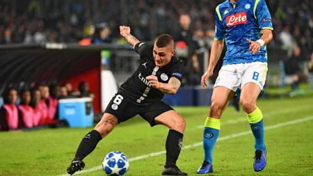 Marco Veratti menguasai bola. - INDOSPORT