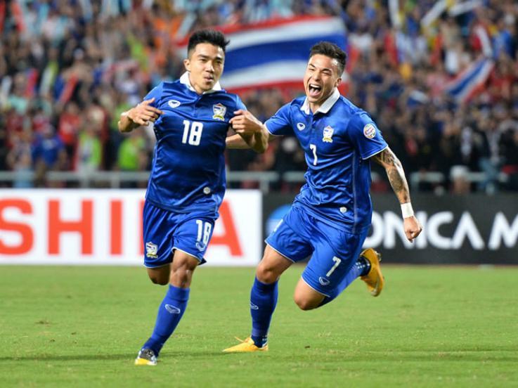 Timnas Thailand di Piala AFF. Copyright: Fox Sport